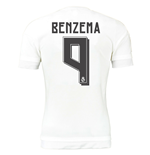 2015-16 Real Madrid Home Shirt (Benzema 9) - Kids