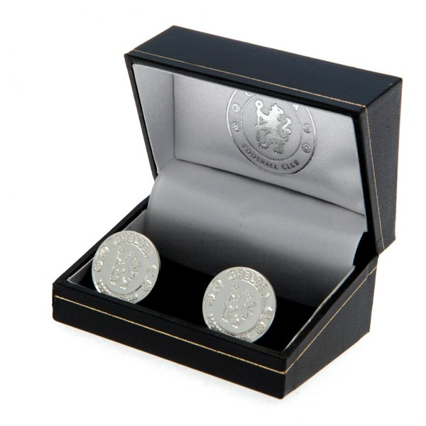 Chelsea F.C. Silver Plated Cufflinks CR