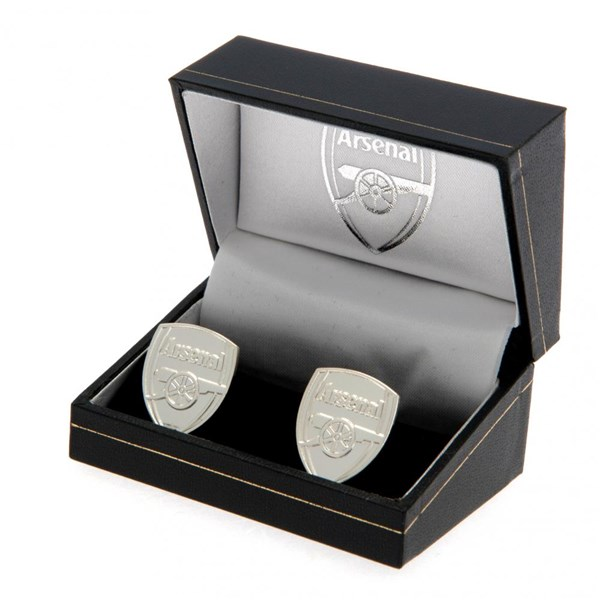 Arsenal F.C. Silver Plated Cufflinks CR