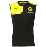 2015-2016 Borussia Dortmund Puma Sleeveless Shirt (Black)