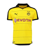 2015-2016 Borussia Dortmund Puma Home Football Shirt (Big Sizes)