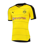 2015-2016 Borussia Dortmund Puma Authentic Home Football Shirt