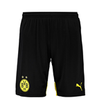 2015-2016 Borussia Dortmund Home Puma Shorts (Black)
