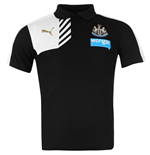 2015-2016 Newcastle Puma Leisure Polo Shirt (Black)