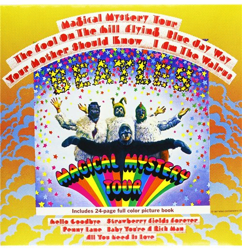 Vynil Beatles (The) - Magical Mystery Tour