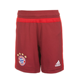 2015-2016 Bayern Munich Adidas Training Shorts (Red)