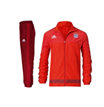 2015-2016 Bayern Munich Adidas Presentation Tracksuit (Red) - Kids