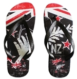 All Blacks Flip Flops Kiwi