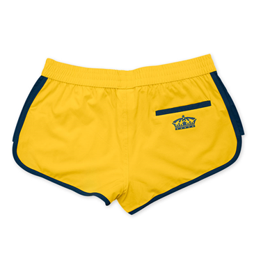 CORONA EXTRA Yellow Ladies Retro Swim Shorts