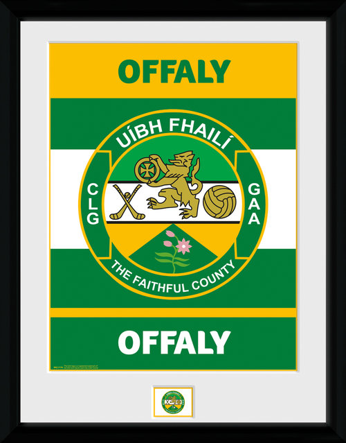 GAA Offaly Framed Collector Print