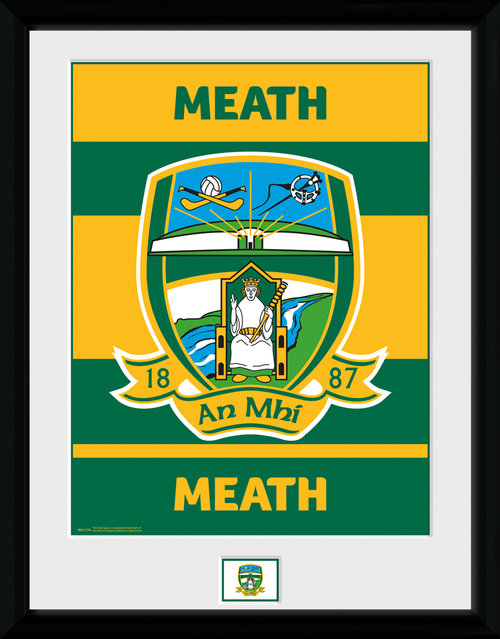 GAA Meath Framed Collector Print