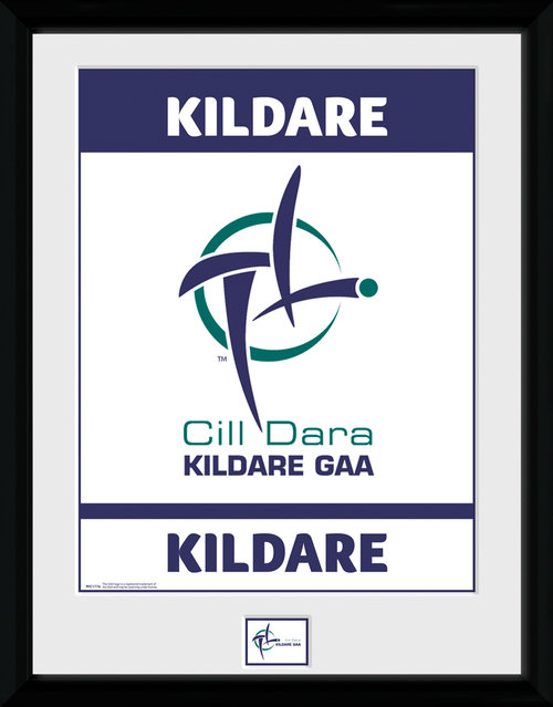 GAA Kildare Framed Collector Print