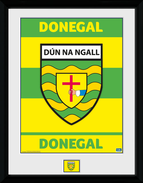 GAA Donegal Framed Collector Print