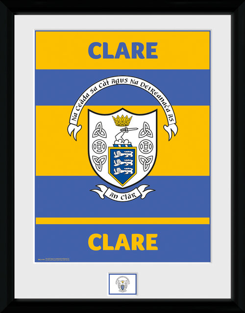 GAA Clare Framed Collector Print