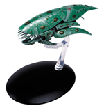 Star Trek Official Starships Collection Magazine with Model #39 Romulan Drone