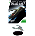 Star Trek Official Starships Collection Magazine with Model #41 Klingon Raptor