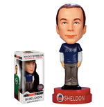 The Big Bang Theory Wacky Wobbler Bobble-Head Sheldon Exclusive Superman Formula Shirt 15 cm