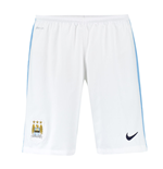 2015-2016 Man City Home Nike Football Shorts