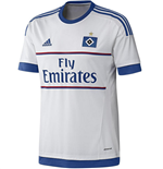 2015-2016 Hamburg Adidas Home Football Shirt
