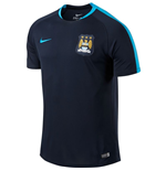 2015-2016 Man City Nike Flash Training Shirt (Obsidian) - Kids
