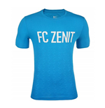 2015-2016 Zenit Nike Match Tee (Blue)