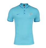 2015-2016 Zenit Nike Authentic League Polo Shirt (Blue)