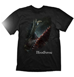 BLOODBORNE A Hunters Bloody Tool T-Shirt, Medium, Black