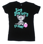 Big Bang Theory T-shirt Sing Soft Kitty To Me
