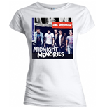 One Direction - Midnight Memories Women's White T-shirt