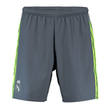 2015-2016 Real Madrid Adidas Away Shorts (Grey) - Kids