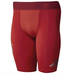 2015-2016 Bayern Munich Adidas Techfit Shorts (Red)