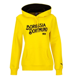 2015-2016 Borussia Dortmund Puma Womens Fan Hoody (Yellow)