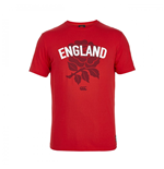 2015-2016 England Rugby Rose Tee (Red)