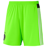 2015-2016 Ajax Adidas Away Shorts (Solar Green) - Kids