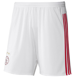 2015-2016 Ajax Adidas Home Shorts (White) - Kids