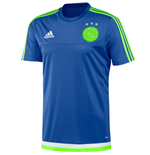 2015-2016 Ajax Adidas Training Shirt (Blue) - Kids