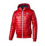 2015-2016 Arsenal Puma T7 Padded Jacket (Red)