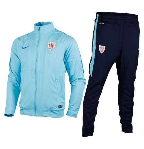 Buy 2015-2016 Athletic Bilbao Nike Woven Tracksuit (Tide Blue) 00e71cfa937