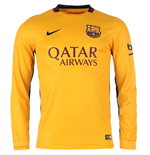 2015-2016 Barcelona Away Nike Long Sleeve Shirt