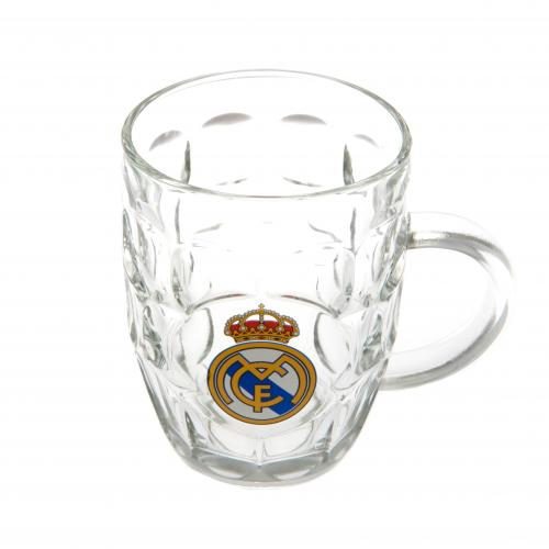 Real Madrid F.C. Glass Tankard