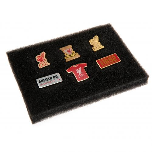 Liverpool F.C. 6 Piece Badge Set