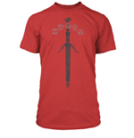 The Witcher T-Shirt Silver Sword