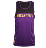 2015 LA Lakers Adidas Summer Tank Top (Purple)