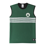 2015 Boston Celtics Adidas Summer Run Reversible Tank Top (Green)