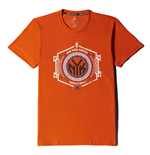 2015 New York Knicks Adidas Fanwear Tee (Orange)