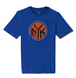 2015 New York Knicks Adidas Fanwear Tee (Blue)
