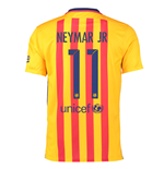 2015-16 Barcelona Away Shirt (Neymar Jr 11) - Kids