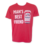 BUDWEISER Man's Best Friend Junk Food T-Shirt