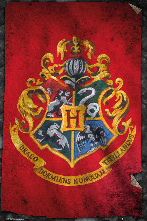 Harry Potter Hogwarts Flag Maxi Poster