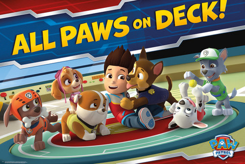 Paw Patrol All Paws On Deck Maxi Poster